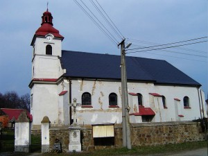 kostel sv. Martina, Bohušov